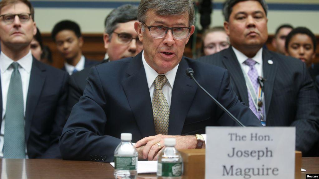 Jefe de Inteligencia MaGuire defiende manejo de la queja sobre Trump y Ucrania