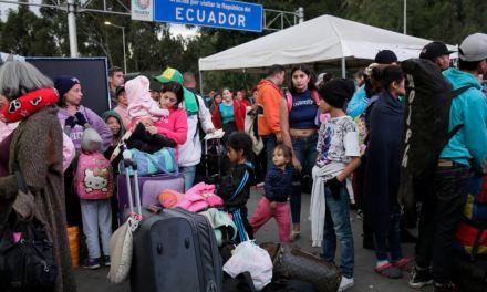 Piden en Colombia corredor humanitario a Ecuador y Perú para venezolanos
