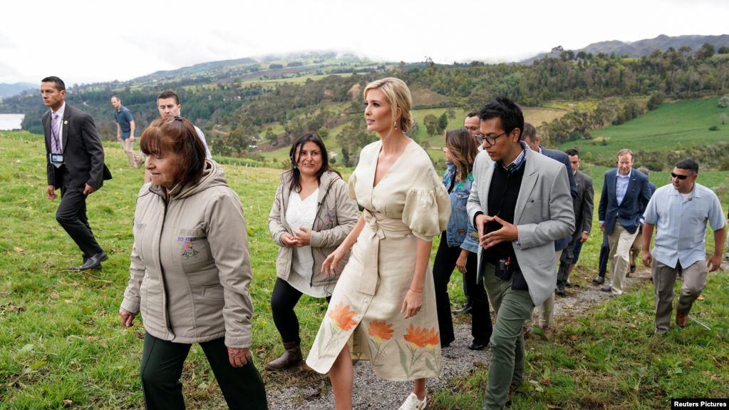 Expectativa por visita de Ivanka Trump a frontera entre Colombia y Venezuela
