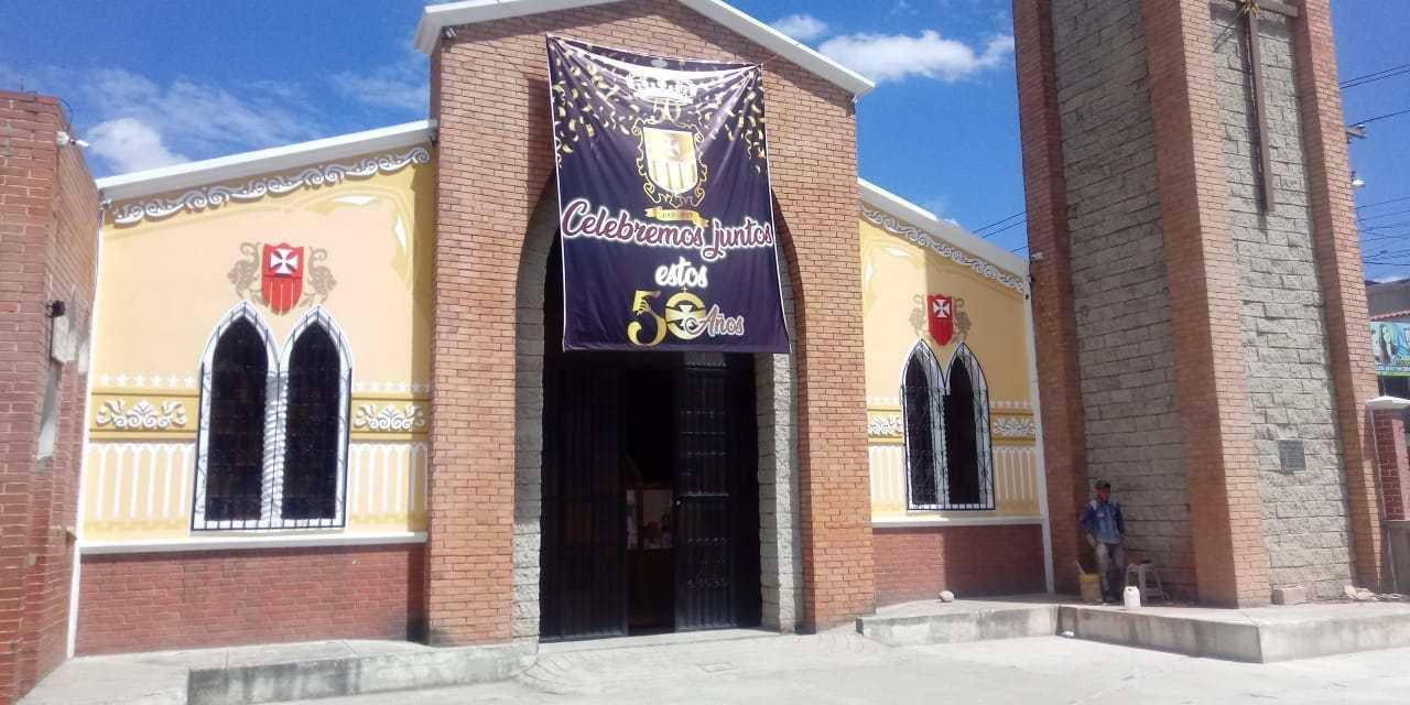 Así celebrarán los 50 años de la parroquia La Merced