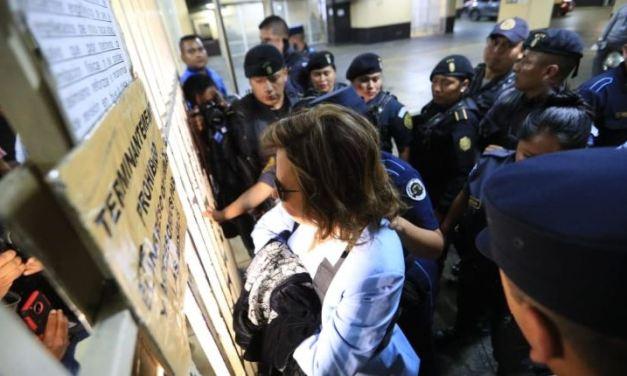 Sandra Torres acude a primera declaración