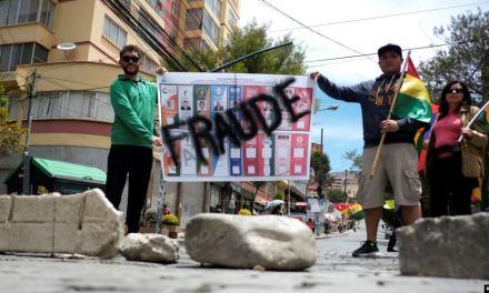 Bolivia: Auditoría de OEA tras elecciones es vinculante, Morales iría a segunda vuelta en caso de fraude
