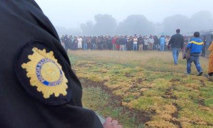 Buscan ilícitos en la Granja Penal Cantel
