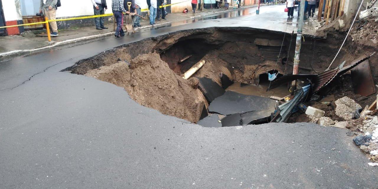 Quetzaltenango entre los cinco departamentos afectados por las lluvias