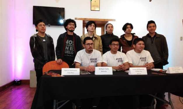 Jóvenes artistas se unen para promover el arte en Quetzaltenango