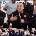 Alejandro Giammattei: En febrero se instalará gabinete en Quetzaltenango
