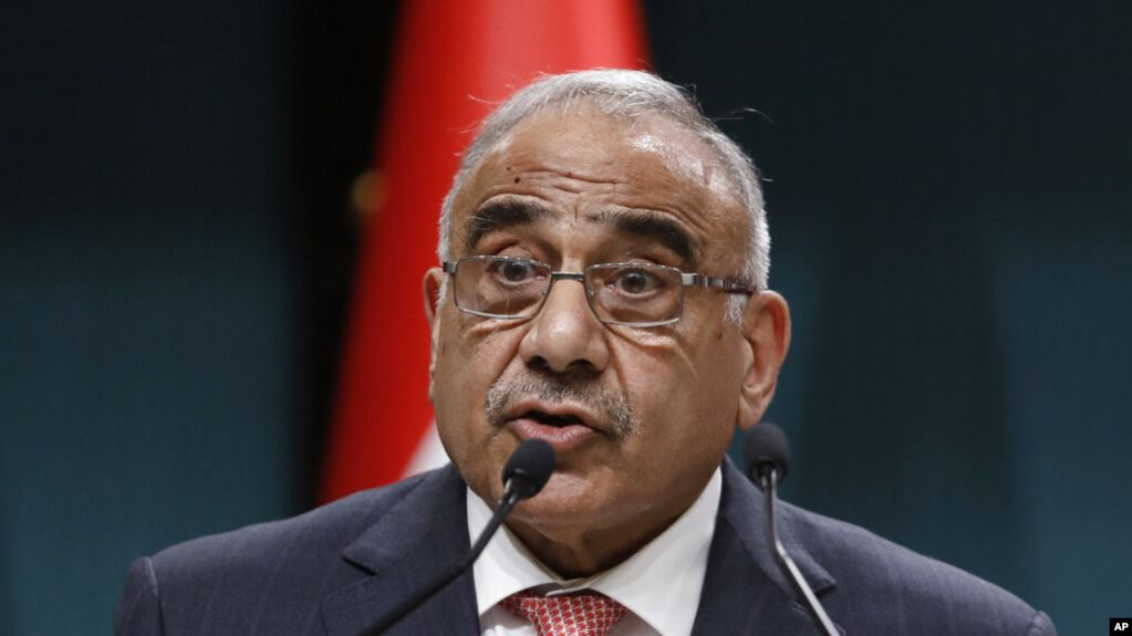 Tras crisis política primer ministro de Irak anuncia que dimitirá