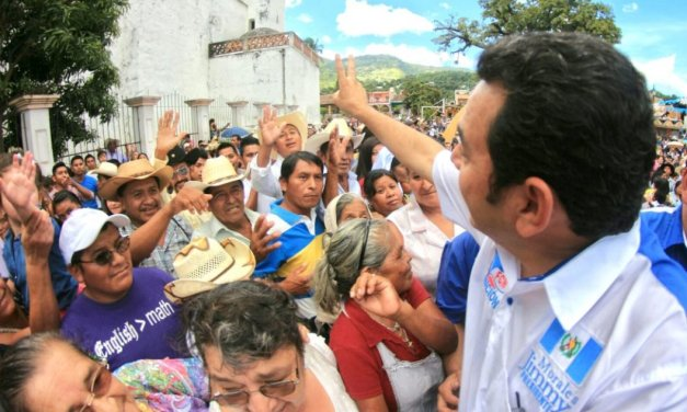 Cancelan a partido político que llevó a la Presidencia a Jimmy Morales