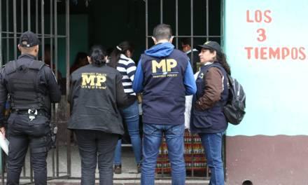 MP, PGN y PNC realizan operativo para rescate de menores explotados