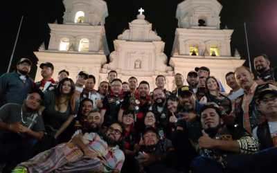 Motoclub de Salcajá sale este viernes para participar en la Caravana del Zorro