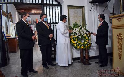 Finalizan actividades por los 240 años de Consagración de la imagen de la Santísima Virgen del Rosario