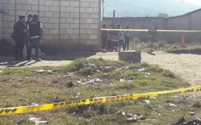 Sigue crisis por inseguridad, este domingo un joven de 24 años fue asesinado en Xela