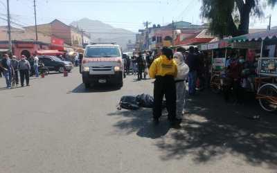 Sexagenario muere atropellado por un bus urbano en la zona 3 de Xela