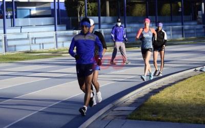 Evalúan a seleccionados nacionales de atletismo