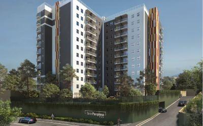 Colocan primera piedra del proyecto Torre Pamplona de 116 apartamentos, será el primer edificio de este tipo en el sector