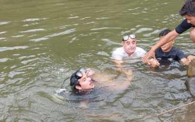 Hombre muere ahogado en el río Naranjo