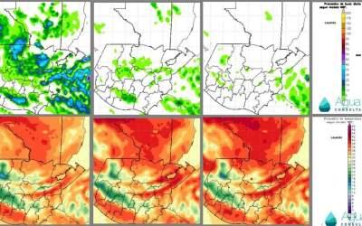 ¿Cuál es la perspectiva climática para las próximas 72 horas en Guatemala?