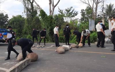 ¿Por qué bloquean varios puntos en Malacatán y aduana El Carmen?