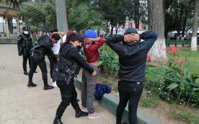 PNC despliega personal en varios operativos en Xela, debido al incremento de la violencia