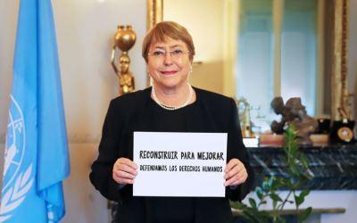 Michelle Bachelet insta al diálogo y pide investigaciones por muertes en Cali
