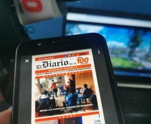 «El Diario de la 100» cumple su primer año de circulación digital