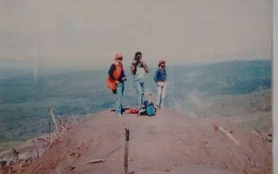 Hace 31 años, cuatro andinistas quetzaltecos murieron por erupciones del Volcán Santiaguito