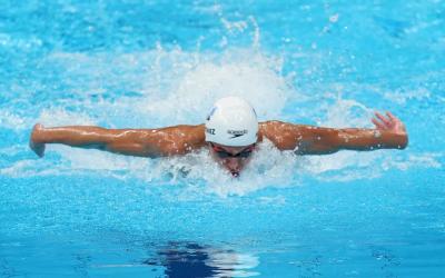 Tokyo 2020:  Luis Carlos Martínez se clasifica a las semifinales de natación