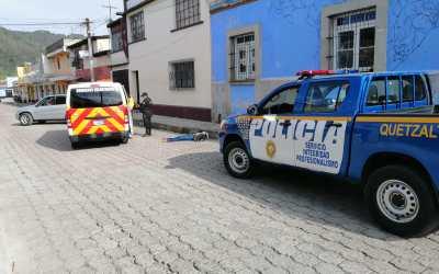 Asesinan a mujer en la zona 1 de Quetzaltenango