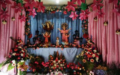 Feligreses en Quetzaltenango piden por niños afectados por COVID-19