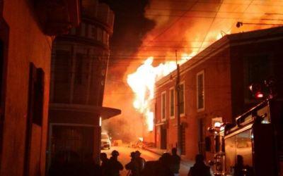 Hoy se cumplen 6 años de mortal incendio en el Centro Histórico de Xela