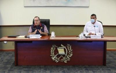 Cadena Nacional en Guatemala, sin Giammattei. Detallan reformas y ratifican toque de queda