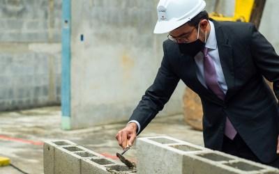 Inicia construcción de la segunda torre de apartamentos en Pamplona