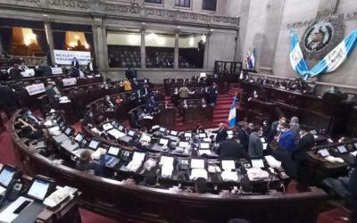 Congreso de Guatemala imprueba Estado de Calamidad decretado por el Ejecutivo