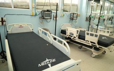 Debido al aumento de casos de covid-19 en niños, el Hospital de Quetzaltenango habilita Intensivo Pediátrico