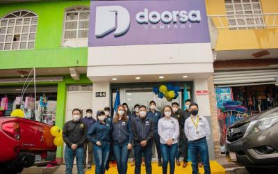 Inauguran oficina de Doorsa Company, empresa que busca brindar vivienda digna accesible con procesos innovadores