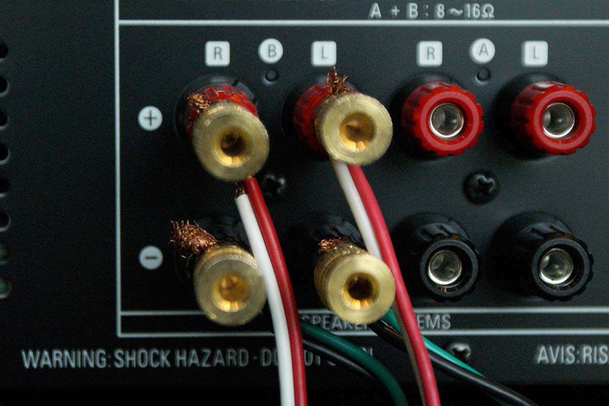 Wiring Home Audio Speakers