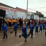 Piden reconstrucción del colegio Pachacútec