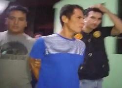 Capturan a sujeto que asesinó a joven madre delante de su hija