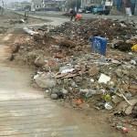 Desmonte de basura contamina el ambiente en ciclovías de Villa El Salvador
