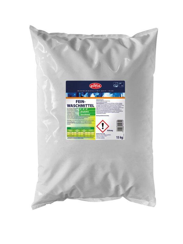 Eilfix Feinwaschmittel 15 kg   Faserschonendes Waschmittel