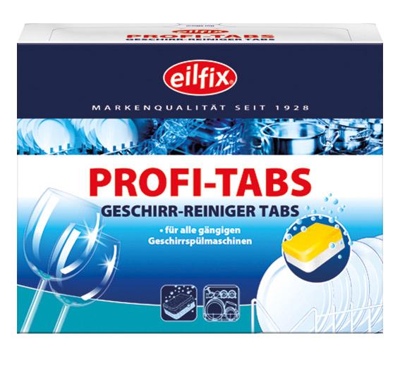 Eilfix Profi-Tabs 60 Stück | Geschirr-Reiniger Tabs