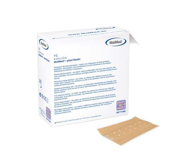 MaiMed® - plast Elastic 6 cm x 5 m   Wundschnellverband 42 Pack.