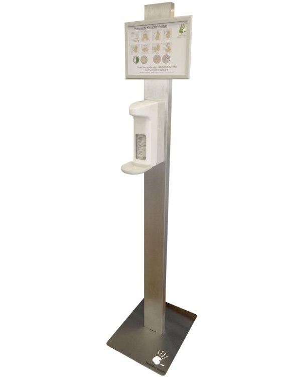 Spendersäule | mit Sensorspender 500ml 2