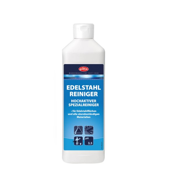 Eilfix Edelstahlreiniger 0,5 L   Spezialreiniger 1