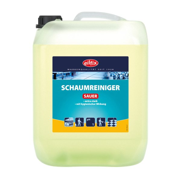Eilfix Schaumreiniger Sauer 12 kg 1
