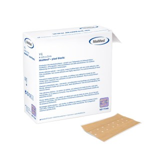 MaiMed® - plast Elastic 6 cm x 5 m | Wundschnellverband 42 Pack. 5
