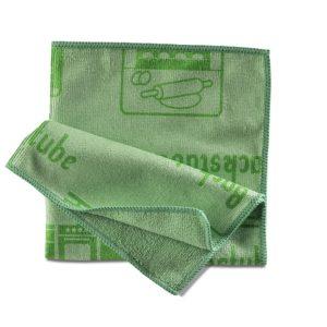 Piktotuch grün | Mikrofasertuch 2