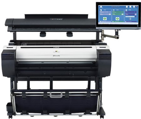 canon imageprograf- mfp m40 large format printer