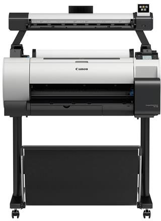 "Canon imagePROGRAF TA-20 24"" Wide-Format Printer with Stand & Scanner"