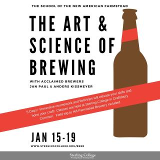 The Art &Science of Brewing - Instagram flyer